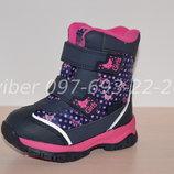 Термоботинки Tom m арт.3981-А р.23-30 зимние ботинки, термики, том м зимові термо ботинки tom.m