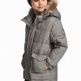 Стильная теплая куртка 7-8лет H&M