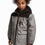 Модная водо и ветронепроницаемая куртка 6-7лет H&M