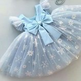 Платье нарядное пышное новогоднее выпускное детское