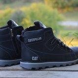 Мужские зимние ботинки Caterpillar Б 707 син