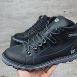 Мужские зимние ботинки Caterpillar Б 707 чер