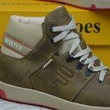 Мужские зимние ботинки Clubshoes