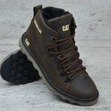 Мужские зимние ботинки Caterpillar Б 707 кор