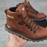 Мужские зимние ботинки Caterpillar Б 707 рыж