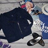 М фирменная женская крутая куртка косуха котоновый пиджак Геп Gap