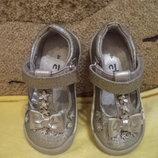 Туфельки для девочки 13 см стелька