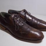 Отличные мужские кожаные туфли Esprit collection 44 размер, стелька 30 см. Туфли в отличном состоян