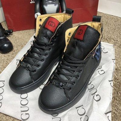 Ботинки Gucci High Top Sneaker With Wolf Black  1300 грн - ботинки ... 3a595f473e4