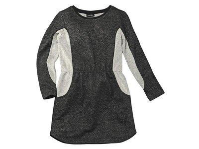 -15% от цены Стильное меланжевое платье на двунитке Pepperts Германия р.8-10-12