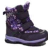 Сноубутсы Том.м арт.3947-C, purple Зимние ботинки для девочек.