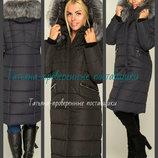 44-58 Зимнее женское пальто. Женская удлиненная куртка. Женский пуховик Молодежное пальто зимнее