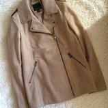 Шерстяное пальто косуха camel Amisu