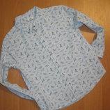 Рубашка F&F размер 5-6 лет. Рост 116 см.