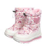 Сноубутсы для девочки Tom.m 23, 24, 25, 26, 27, 28 р Белый C-T38-75-A Ботинки дутые зимние для дево