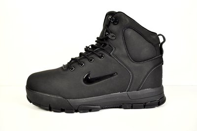 Зимние мужские ботинки Nike Air Nevist 6 black