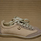 Легкие комбинированные кроссовки пастельной расцветки Claudia Ghizzani Германия 36 р.