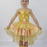 Детский карнавальный костюм для девочки Золотая Рыбка