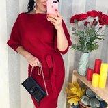 элегантные серые и красные платья миди оригинального кроя с-м-л