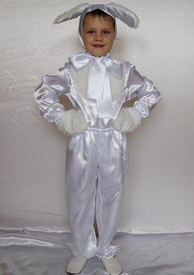 Детский карнавальный костюм для мальчика «ЗАЙЧИК» 584