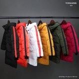 Детский пуховик пальто на девочку на мальчика куртка зимняя пуховик для мальчика для девочки 410092