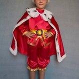 Детский карнавальный костюм для мальчика «КОРОЛЬ» 587