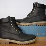 Ботинки кожаные Timberland размеры с 36 по 40.