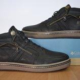 Кожаные зимние ботинки Belvas.