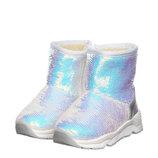 Ботинки для девочки Jong Golf 22, 23, 24, 25, 26, 27 р Белый A5156-7 Стильные тёплые угги
