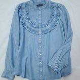 Marks&spencer collection рубашка деним xl