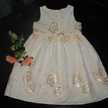 нарядное платье Cherokee 18-24 мес состояние отличное