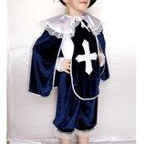 Детский карнавальный костюм для мальчика «МУШКЕТЁР» 601