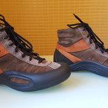 Брендовые стильные кожаные ботинки ECCO original
