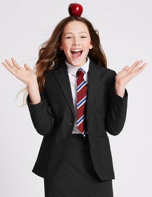 14 лет Школьный пиджак Marks&Spencer с регулируемыми рукавчиками часть 2