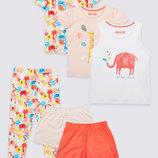 Шикарный комплект из 3 пижам от Тм Marks&Spencer