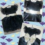 Шикарное детское нарядное выпускное пышное платье