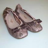 next Балетки, мокасины, туфли Некст, р 1, стелька 20,5 см отличное состояние