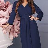 Шикарное Платье креп-костюмка три цвета скл.1 арт. 46801
