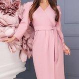 Шикарное Платье креп-костюмка три цвета скл.1 арт.46800