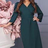Шикарное Платье креп-костюмка три цвета скл.1 арт.46799