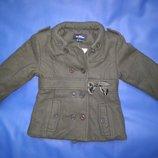 куртка пальто жакет демисезон Villa Happ рост 86
