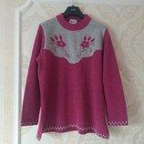 Размер 18-20 Красивый фирменный свитер