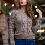 Женский короткий вязаный джемпер Турция кофта свитер женские теплые свитера вязаные короткие теплые