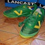 Кроссовки зеленые Lancast 37, 38 р-р оригинал дешево, распродажа
