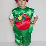 Детский карнавальный костюм ПОМИДОР 3198