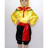 Детский карнавальный костюм для мальчика «ПЕТУШОК» 608