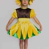 Детский карнавальный костюм ПОДСОЛНУХ 3222