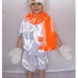 Детский карнавальный костюм для мальчика «СНЕГОВИК» 617