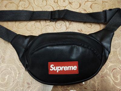Мужская сумка на пояс, барсетка поясная бананка кож.зам. Черный