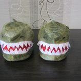Комнатные тапочки сапожки крокодильчики вашему чаду 23-24 Primark